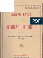 Canto épico a las glorias de Chile