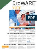 SoftENGINE Update 05.2005 - Die Zeitschrift für Freunde und Anwender der BüroWARE und der WEBWARE