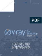 V Ray 2 0 SketchUp Features Improvements 2014