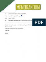 2014 State Audit Memo Aug 14