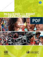 Realizing the Right to Development