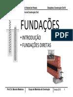 Fundações Diretas-UFPR