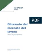 Glossario Del Mercato Del Lavoro