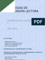 "Estrategias de Comprensiã""n Lectora"
