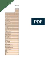 Lista de Empresas Petroléferas (1)
