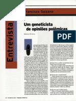 Geneticista BR - Francisco Salzano