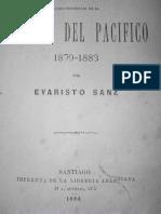 Reminiscencias de la Guerra del Pacifico, Por el subteniente Evaristo Sanz, 1883