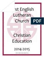 fel christian education booklet 2014-15