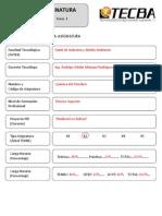 Formulario SAETA Quimica Del Petroleo