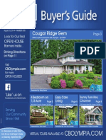 Coldwell Banker Olympia Real Estate Buyers Guide August 23rd 2014