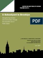 A Schoolyard in Brooklyn