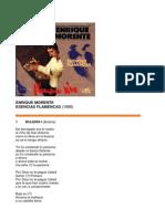Enrique Morente - Lyrics