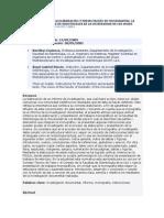 Instrucciones Para La Elaboración y Presentación de Monografías