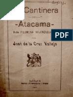 La Cantinera del Atacama, Filomena Valenzuela