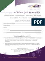 2014 Sponsorship Packet