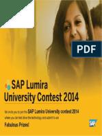 SAP lumira install guide