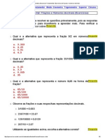 Matematica Essencial_ Fundamental_ Exercicios de Fracoes e Numeros Decimais