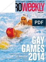 Metro Weekly - 08-21-14 - Gay Games