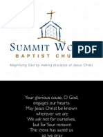 Morning Gathering - August 24, 2014