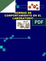 Mediaalexisnormasdecomportamientoenellaboratorio 091204063919 Phpapp01 120829123430 Phpapp01