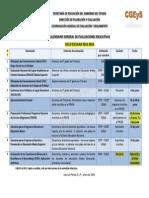 Calendario Evaluaciones 2014 Preliminar (Tenue)-2