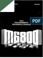 M6800 Micro Controller Referans Book
