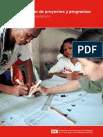 Manual Planificacion de Proyectos y Programas