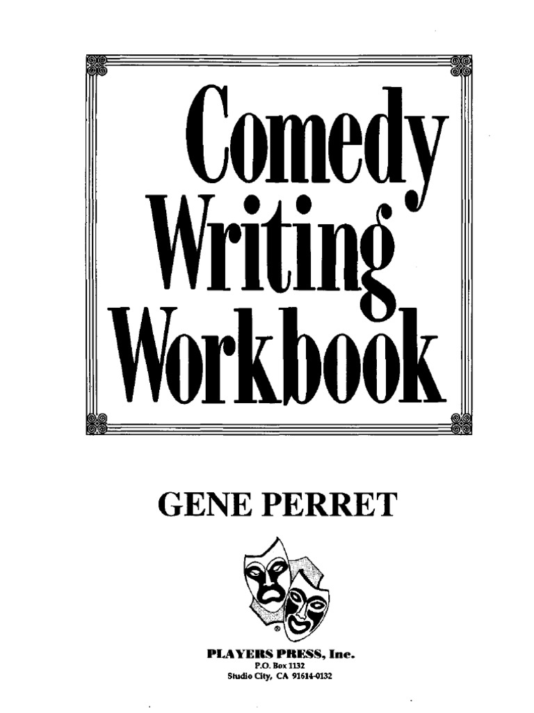 Comedy writing workbookpdf jokes sports fandeluxe Images