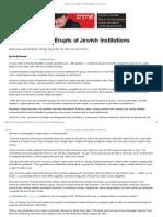 feud over israel erupts    titutions  forward com copy