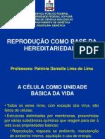 01- Reprodução Como Base Da Hereditariedade