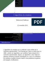 Chapitre4 Simplex