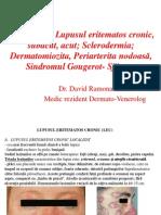 LP 7 Colagenoze Lupusul Eritematos Cronic, Su Bacut, Acut; Sclerodermia; Dermatomiozita, Periarterite Nodoasă, Sindromul Gouger