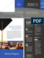 ALEC Alumni Program Brochure