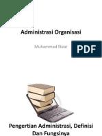 Administrasi Organisasi.ppt