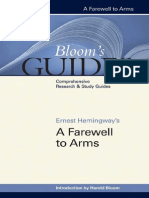 Bloom's Guides a Farewell to Arms