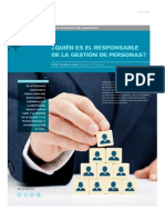 ¿Quién es el responsable de la gestión de personas?  - FOCUS Julio 2014