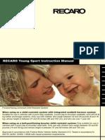 Manual Recaro Young Sport