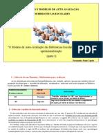 Metodologias e operacionalização do domínio B