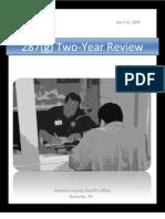 Davidson County (Tenn.) Sheriff's Office 287(g) - 2 Year Review (4/16/09)