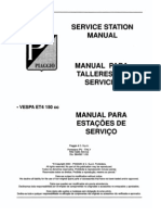 Vespa ET4 Workshop Manual