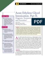 Acute Ethylene Glycol İntoxication.Part II.
