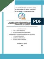Informe de Auditoría - Ing Agroindustrial