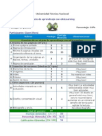 Rúbrica de Evaluación EXeLearning Gianni Rossi