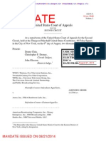 Second Circuit rejects Aereo's new argument