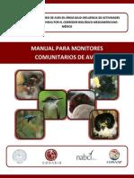 m Monitores Comunitarios Aves