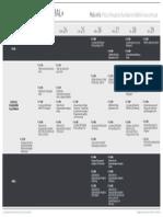 Cronograma de Actividades IMAGINA