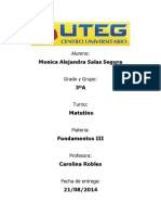 Monica Alejandra Salas Segura FUNDAMENTOS III,Tarea 1