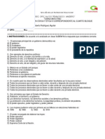 Examen 4to. Bimestre Formacion II