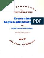 32840642 Wittgenstein Tractatus