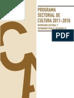 Plan Sector i Al Cultura